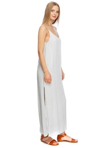 Fridays Project Askılı Uzun Elbise Beyaz